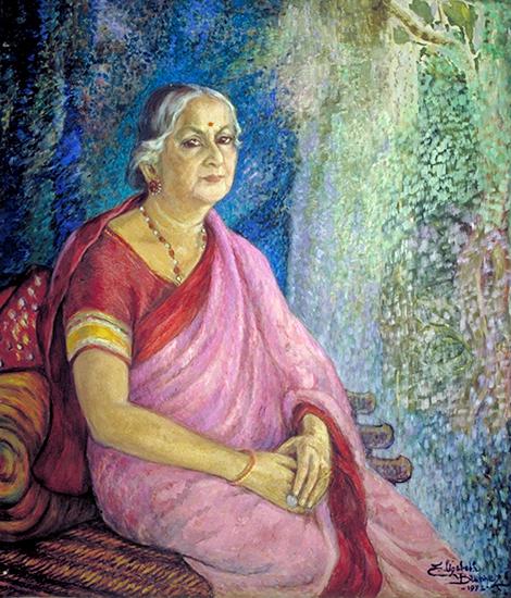 Portrait of Kamaladevi Chattopadhyay