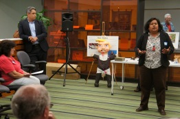 Ricardo Flores & Georgette Gomez, candidates for San Diego City Council District 9