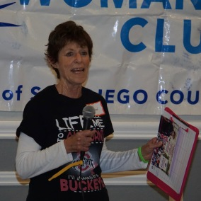 Lynn Gerson (volunteer for Delaine Eastin)
