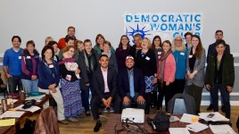 Members with endorsed candidates Sean Elo and Fayaz Nawabi
